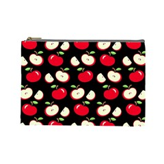 Apple pattern Cosmetic Bag (Large)
