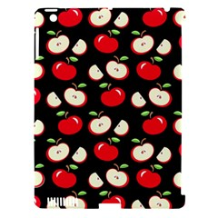 Apple pattern Apple iPad 3/4 Hardshell Case (Compatible with Smart Cover)