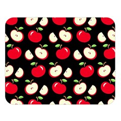 Apple pattern Double Sided Flano Blanket (Large)