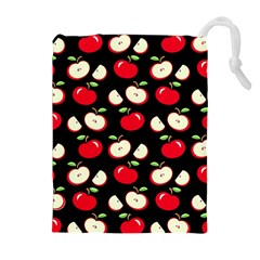 Apple pattern Drawstring Pouches (Extra Large)