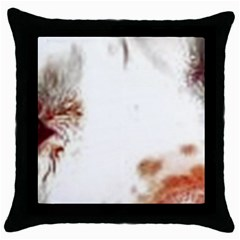 Spotted pattern Throw Pillow Case (Black)