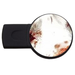 Spotted pattern USB Flash Drive Round (1 GB)