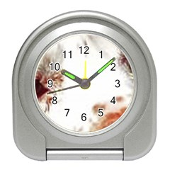 Spotted pattern Travel Alarm Clock