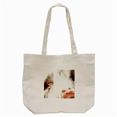 Spotted pattern Tote Bag (Cream)