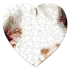 Spotted pattern Jigsaw Puzzle (Heart)