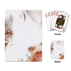 Spotted pattern Playing Cards Single Design