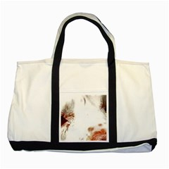 Spotted pattern Two Tone Tote Bag