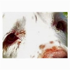 Clumber Spaniel Eyes Large Glasses Cloth (2-Side)