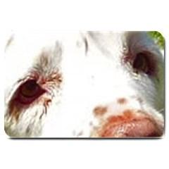 Clumber Spaniel Eyes Large Doormat