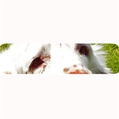 Clumber Spaniel Eyes Large Bar Mats
