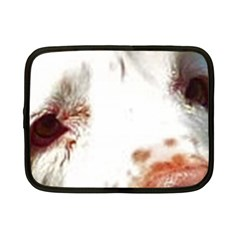 Clumber Spaniel Eyes Netbook Case (Small)