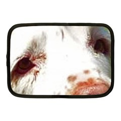 Clumber Spaniel Eyes Netbook Case (Medium)