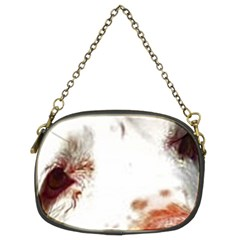 Clumber Spaniel Eyes Chain Purses (Two Sides)