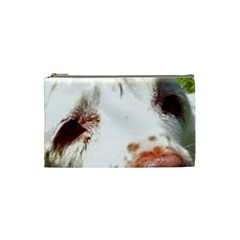 Clumber Spaniel Eyes Cosmetic Bag (Small)