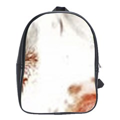 Spotted pattern School Bag (Large)