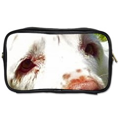 Clumber Spaniel Eyes Toiletries Bags