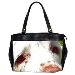 Clumber Spaniel Eyes Office Handbags (2 Sides)