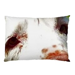 Clumber Spaniel Eyes Pillow Case (Two Sides)