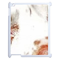 Spotted pattern Apple iPad 2 Case (White)