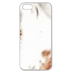 Spotted pattern Apple Seamless iPhone 5 Case (Clear)