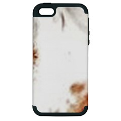 Spotted pattern Apple iPhone 5 Hardshell Case (PC+Silicone)