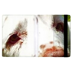 Clumber Spaniel Eyes Apple iPad 2 Flip Case