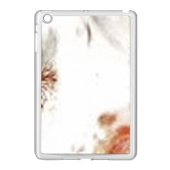 Spotted pattern Apple iPad Mini Case (White)
