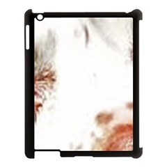 Spotted pattern Apple iPad 3/4 Case (Black)