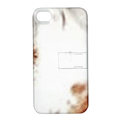 Spotted pattern Apple iPhone 4/4S Hardshell Case with Stand