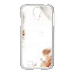 Spotted pattern Samsung GALAXY S4 I9500/ I9505 Case (White)