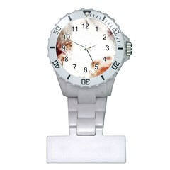 Spotted pattern Plastic Nurses Watch