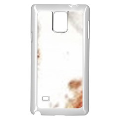 Spotted pattern Samsung Galaxy Note 4 Case (White)