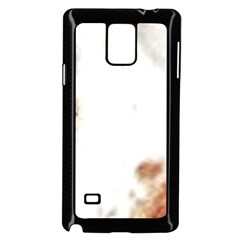 Spotted pattern Samsung Galaxy Note 4 Case (Black)