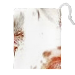 Spotted pattern Drawstring Pouch (XXL)