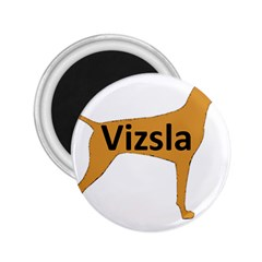 Vizsla Name Silo Color 2.25  Magnets