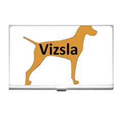 Vizsla Name Silo Color Business Card Holders