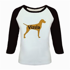 Vizsla Name Silo Color Kids Baseball Jerseys
