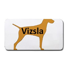 Vizsla Name Silo Color Medium Bar Mats