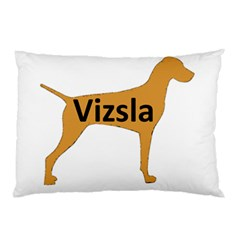 Vizsla Name Silo Color Pillow Case