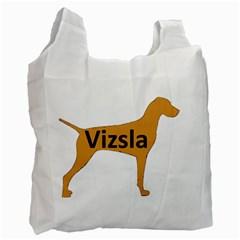 Vizsla Name Silo Color Recycle Bag (Two Side)