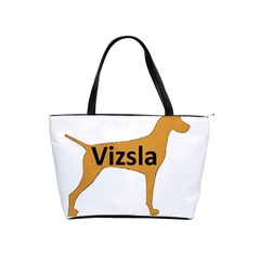 Vizsla Name Silo Color Shoulder Handbags