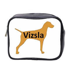 Vizsla Name Silo Color Mini Toiletries Bag 2-Side