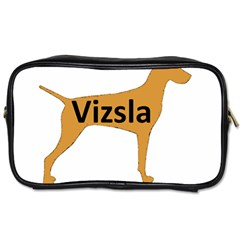 Vizsla Name Silo Color Toiletries Bags