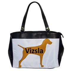 Vizsla Name Silo Color Office Handbags