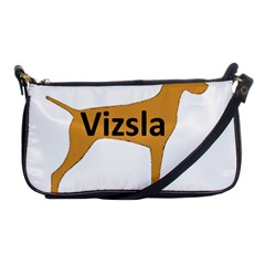 Vizsla Name Silo Color Shoulder Clutch Bags
