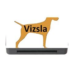 Vizsla Name Silo Color Memory Card Reader with CF