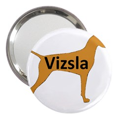 Vizsla Name Silo Color 3  Handbag Mirrors