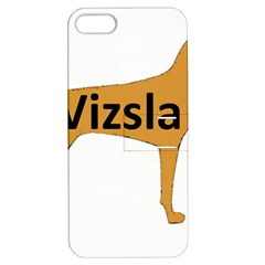 Vizsla Name Silo Color Apple iPhone 5 Hardshell Case with Stand