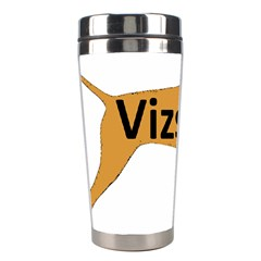 Vizsla Name Silo Color Stainless Steel Travel Tumblers