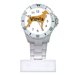 Vizsla Name Silo Color Plastic Nurses Watch